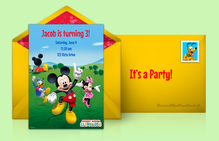 Plan a Mickey Mouse Clubhouse Party!