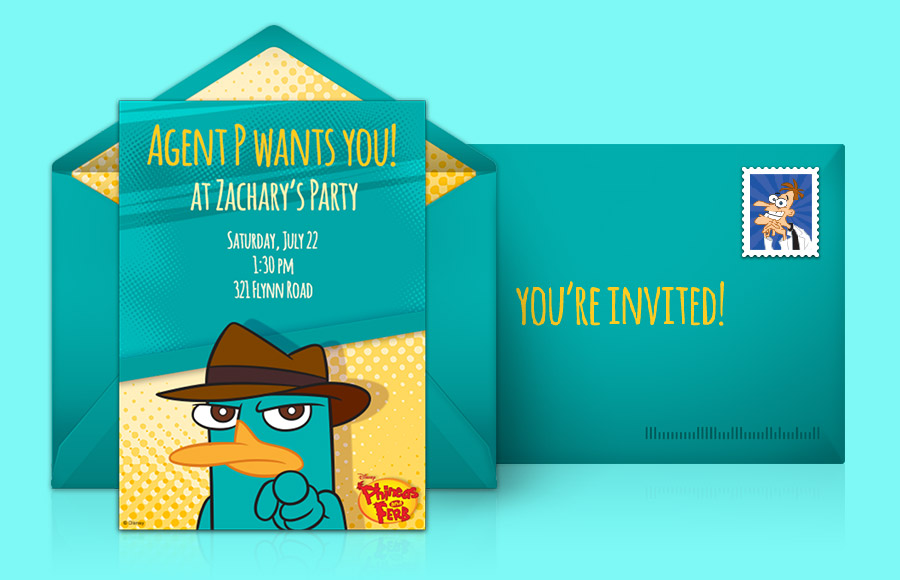 Plan a Phineas and Ferb Party!
