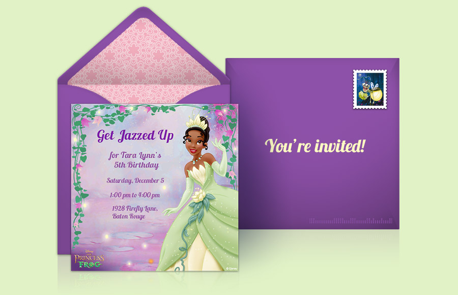Plan a Princess and the Frog Party!