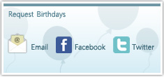 Birthday List Screen