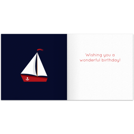 sailboat for him  free birthday card for him, happy birthday, Birthday card
