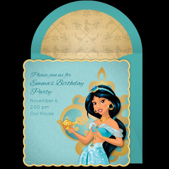 Free Jasmine Online Invitation Punchbowl Com