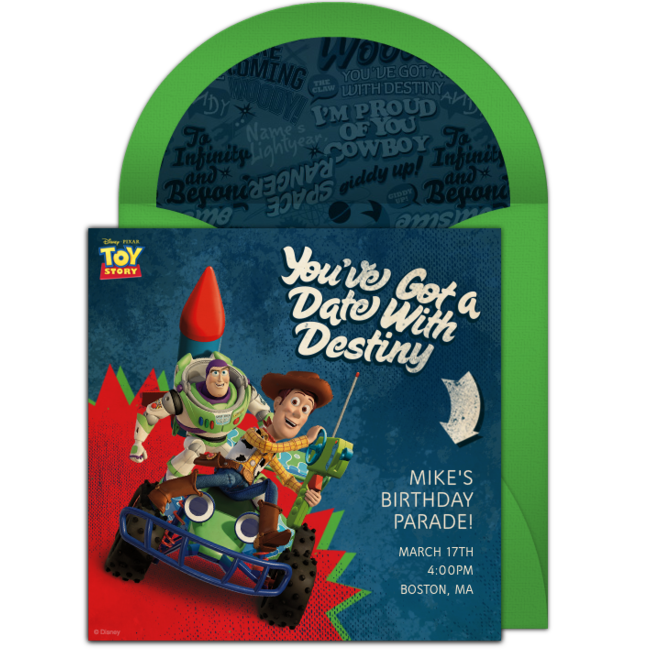 Free toy story woody buzz online invitation punchbowl toy story woody buzz online invitation stopboris Gallery