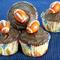Football Shaped Cupcakes