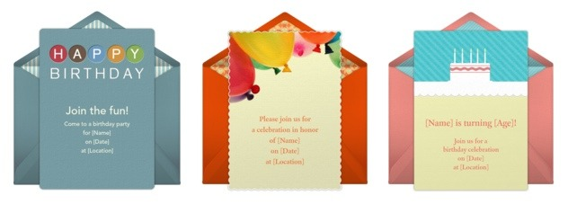 40th Birthday Online Invitations
