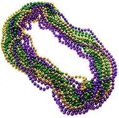 gras beads Mardi