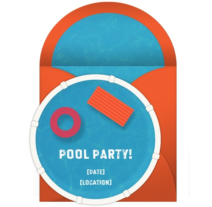 Tips for Hosting a Pool Party – Cool Pool Party Invitations