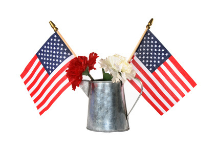 Patriotic july 4th decorations for American flag decoration ideas