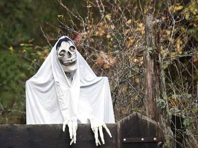 halloween ghost decorations are a fantastic way to make your home look spooky for the holidays ghost decorations for halloween can be quick and easy