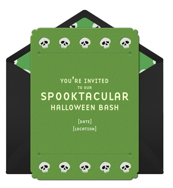 Halloween party invitation wording stopboris Image collections