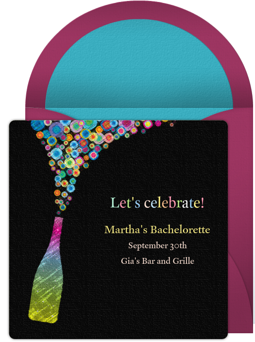 Bachelorette Party Invitations – Create Party Invitations