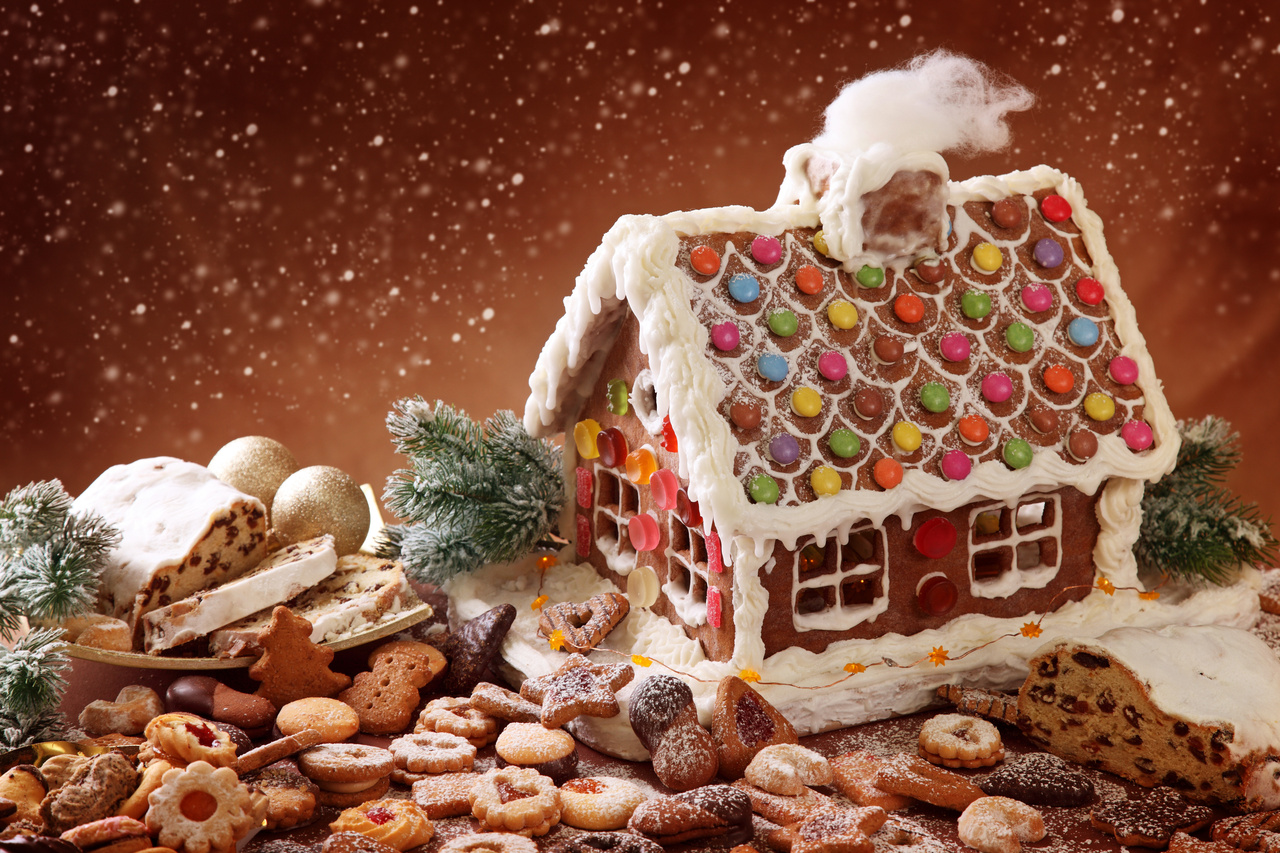 Ideas for a gingerbread house - Ideas For A Gingerbread House