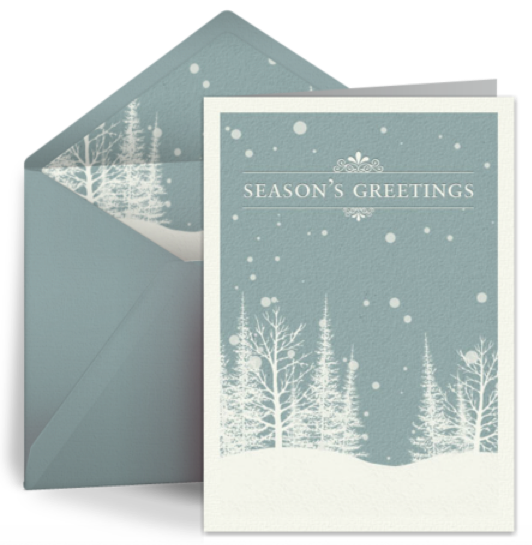 Go green with eco friendly christmas ecards m4hsunfo Gallery