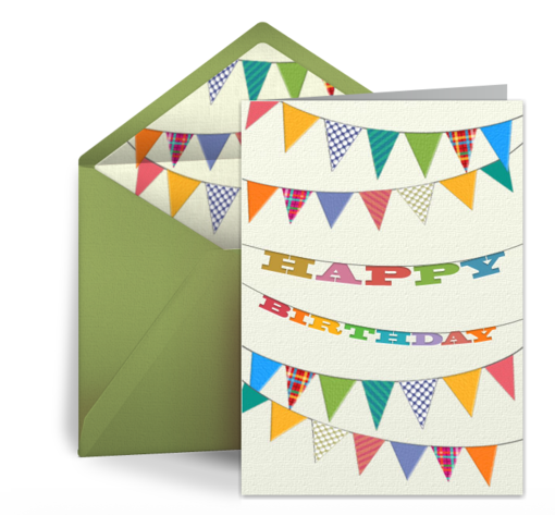 tips for writing birthday ecards, Birthday card
