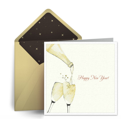 free ecards to say happy new year