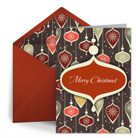 Top 10 free ecards for christmas christmas delivery ecard deliver your christmas greetings in this playful ecard of a little bird in a santa hat sitting atop a big present in the snow m4hsunfo