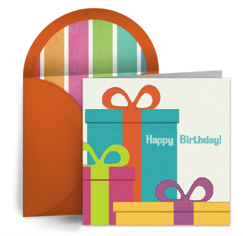Consider These Groups Of People As Recipients For Birthday ECards