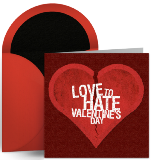 Love To Hate Valentine S Day
