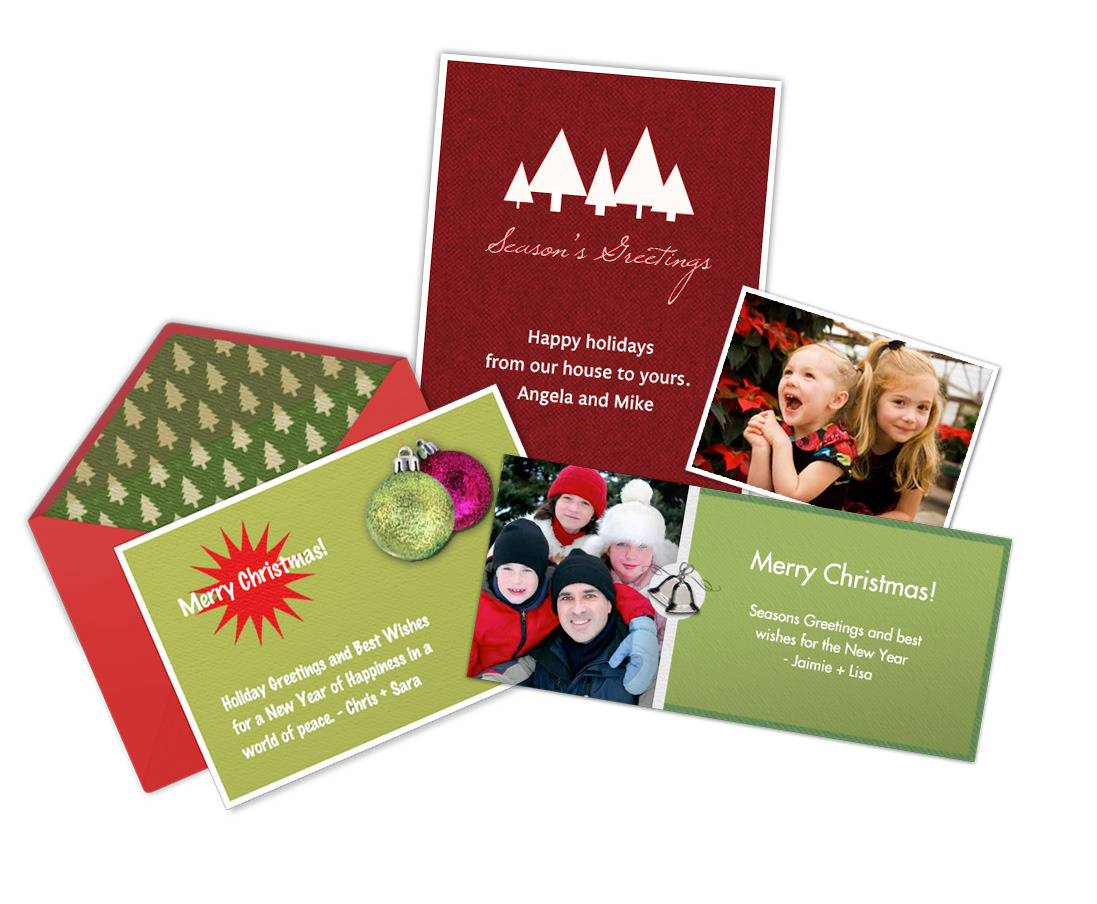 Customize Your Holiday Greetings