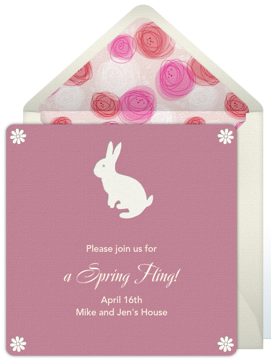 Free Invitations Spring Forward