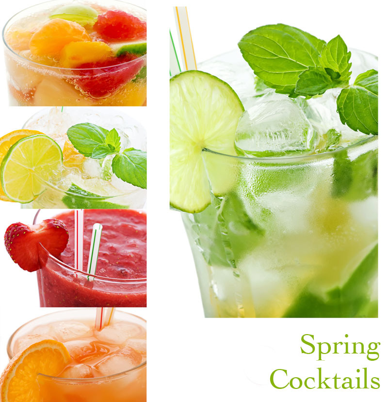 five delicious spring cocktails