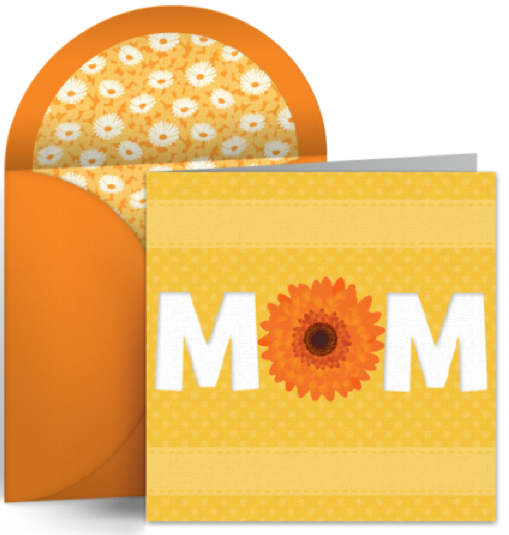 Don't Forget to Schedule a Mother's Day eCard