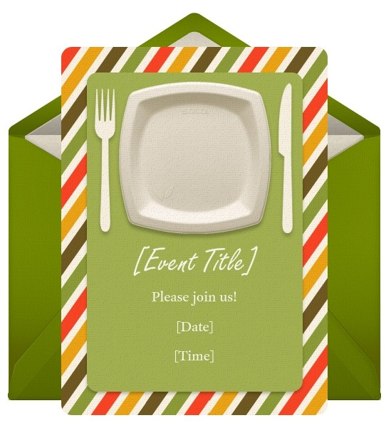 Food & Drink Invitations By Solo