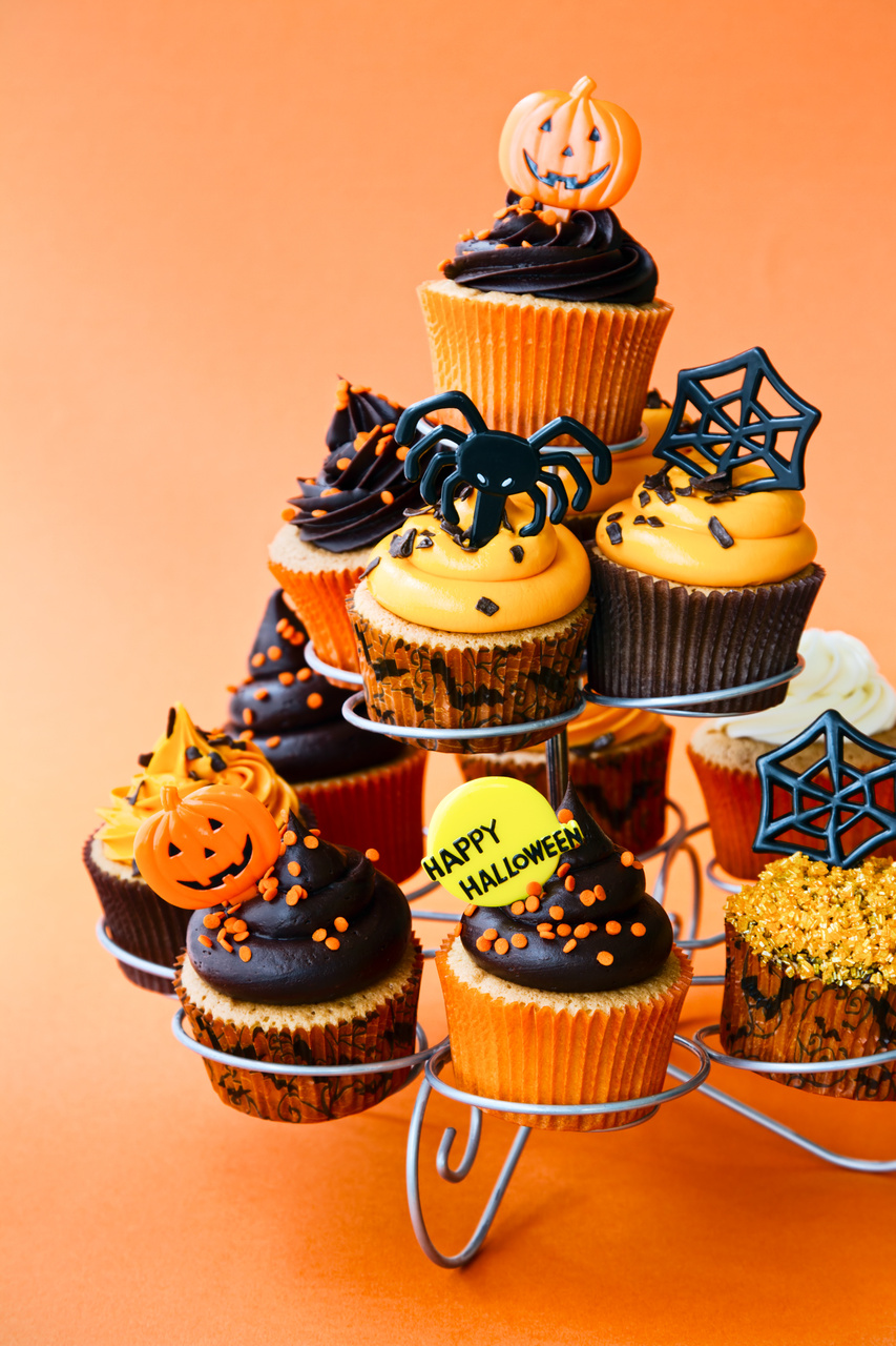 cupcakes design for halloween