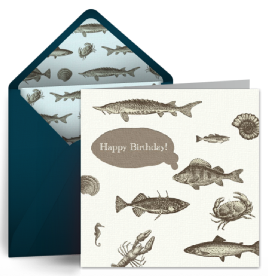 Free Birthday eCards – Fish Birthday Cards