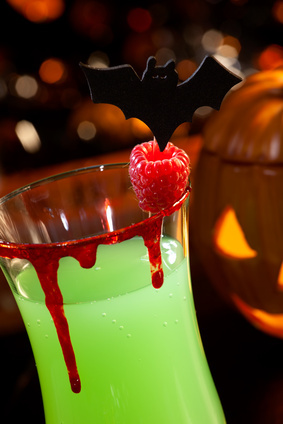halloween kids drinks - Halloween Themed Alcoholic Shots