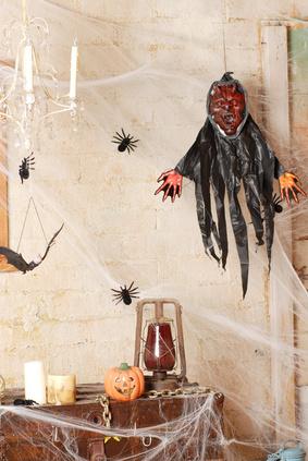 Haunted house ideas diy
