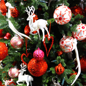 five ways to decorate with glass christmas ornaments - How To Decorate A Glass Christmas Ornament