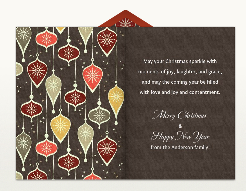 christmas greetings christmas card wording - Business Holiday Card Messages