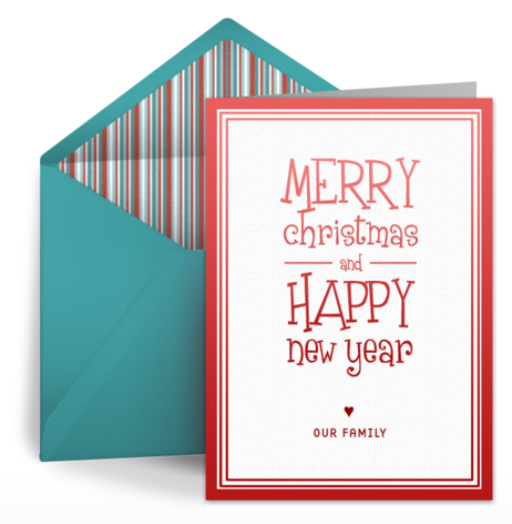 Digital Holiday Cards