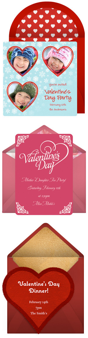 Free Valentine's Day invitations by Punchbowl