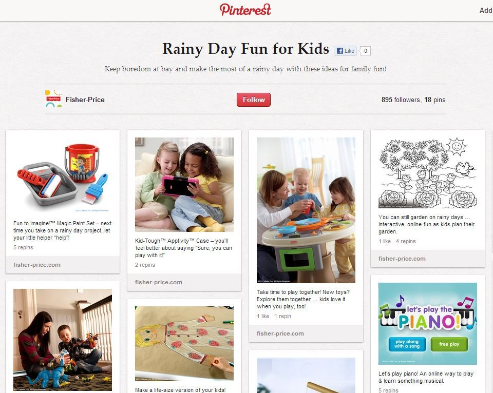 kids pinterest category top pin