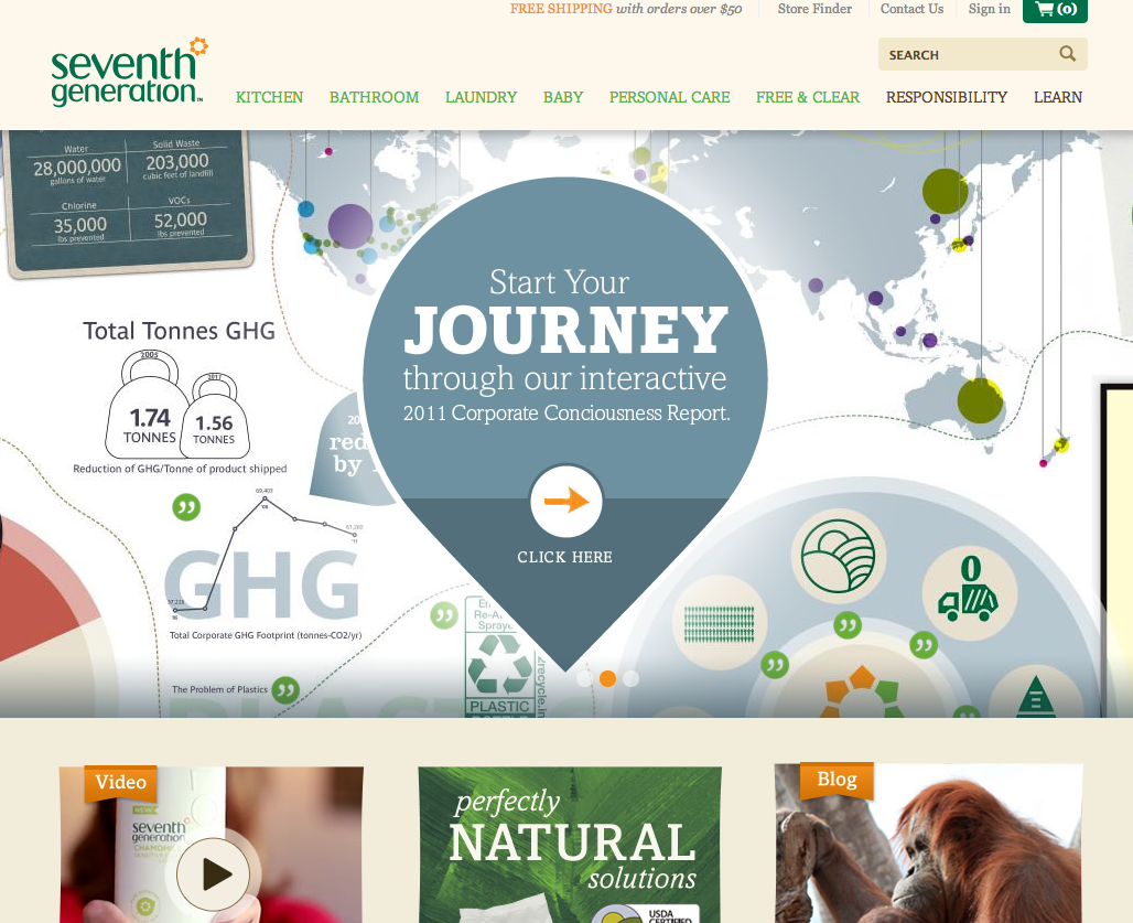 seventh generation site