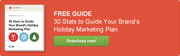 holiday marketing plan