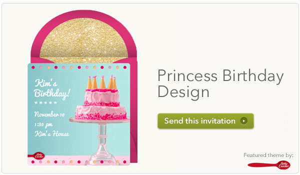 Invitations for Kids Birthday Parties – Punchbowl Birthday Invitations