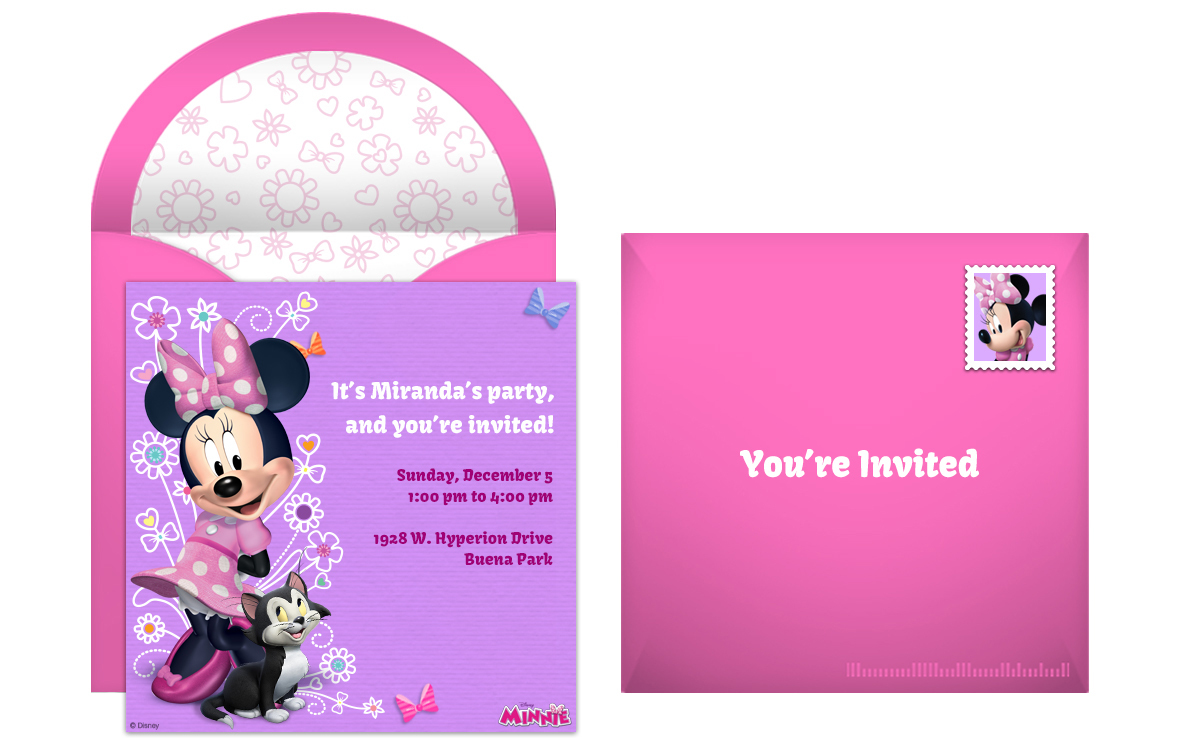 Free Invitations Online for adorable invitation sample