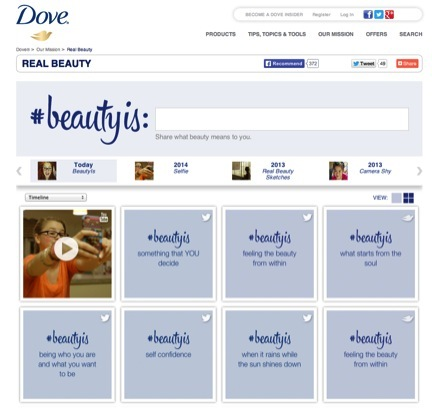 dove real beauty campaign