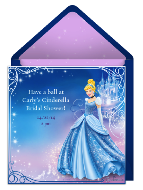 Cinderella Themed Bridal Shower