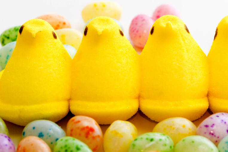 easter candy peeps