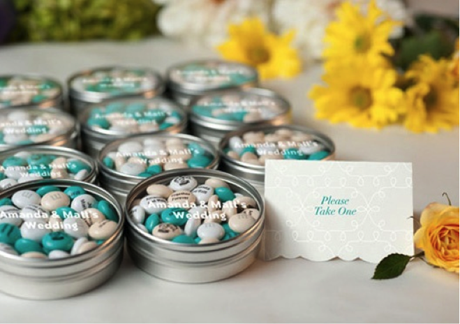 3 ideas for personalized wedding favors
