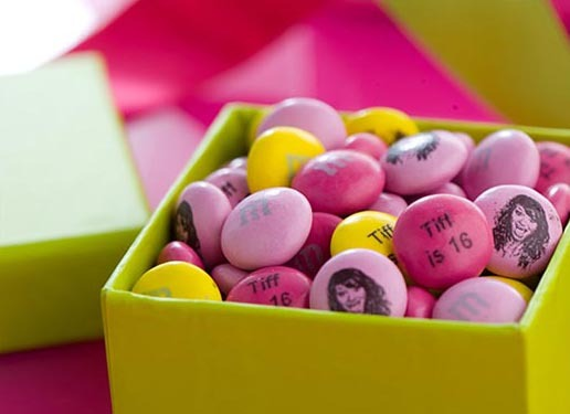 personalized birthday candies