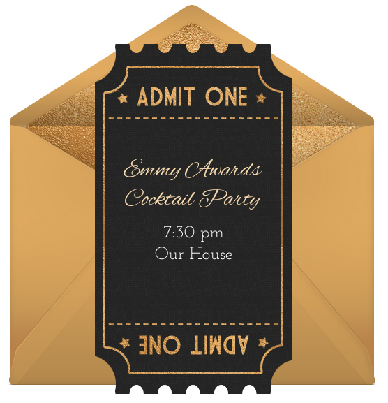 Host An Emmy Party To Kickoff The New Tv Season