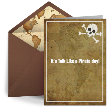 free ecard for talk like a pirate day