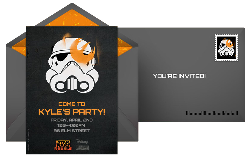 Plan An Action Packed Star Wars Rebels Birthday Party