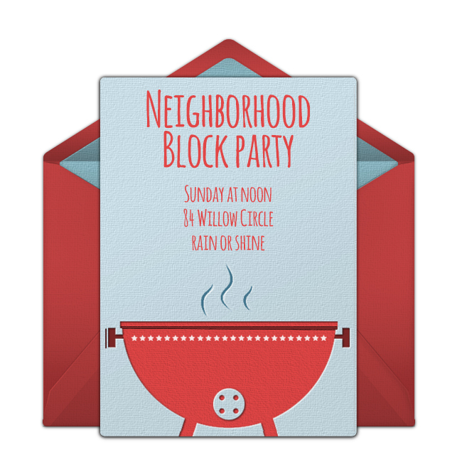 5 Tips for Hosting a Neighborhood Cookout – Neighborhood Block Party Invitations