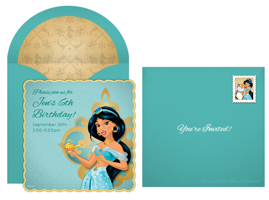 Plan a Dazzling Princess Jasmine Party